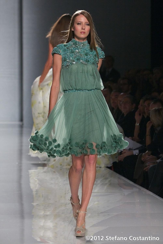 20120129 - MODA - ROMA: TONY WARD ISPIRATO DALLA MAGIA DELLE ISOLE VERGINI. Gli abiti della collezione primavera/estate 2012. PHOTO: STEFANO COSTANTINO