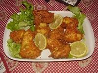 Ali di pollo impanate e fritte