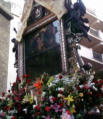 Quadro della Madonna della Consolazione