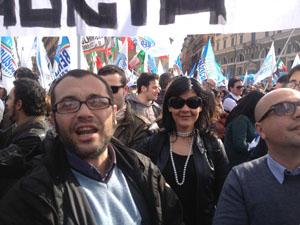Manifestazione del PDL a ROMA del 23.03.2013