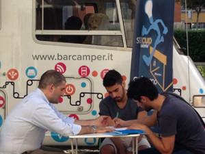 Barcamper tour