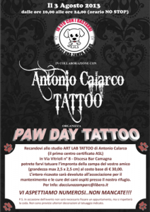 Paw Day Tattoo RC