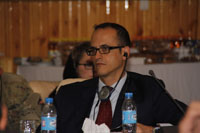 il Rappresentante civile della NATO per RC-W, Dott. Andrea Romussi