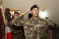 il nuovo comandante della TF 'Genio', colonnello Bruno Pisciotta