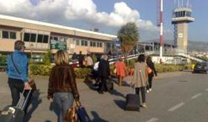Passeggeri areoporto di Reggio Calabria