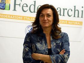 La presidente del Parco, Sonia Ferrari