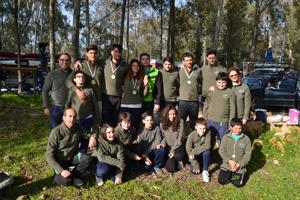 Foto di gruppo a Nicoletti