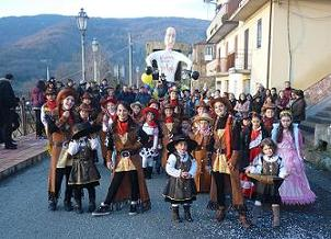 Sfilata carnevale a Platania Oratorio Benedetto XVI  2014 053