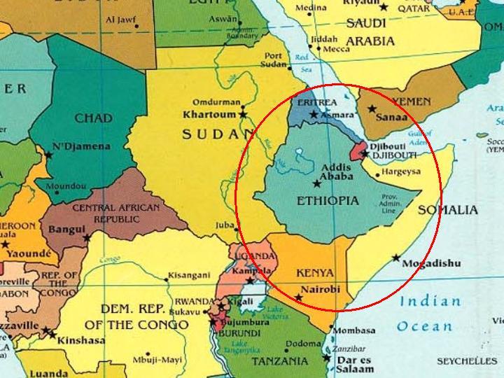 Cartina Politica Africa In Italiano.La Politica Estera Italiana Nel Corno D Africa Ilmetropolitano It