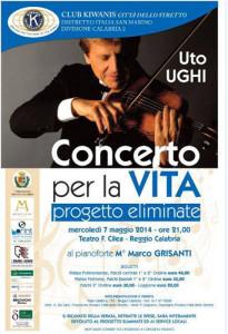 Locandina Concerto Uto UGHI