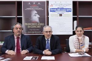 da sx Francesco Anile, Franco Mileto, Maria Pia Tucci, ph Michele Galluccio