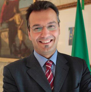 L'assessore provinciale Giuseppe Giudiceandrea