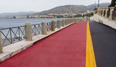 pista ciclabile Reggio Calabria