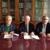 Firma accordo Roccella - Certomà, Raffa, Verduci