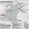 mappa droga ndrangheta mondiale