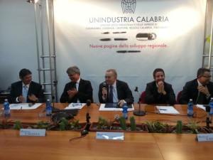 Giorgio Squinzi presenta Unindustria Calabria