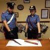foto coltello e mattarello