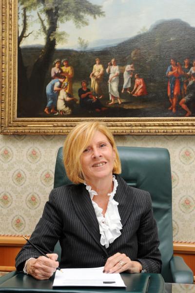 Marita Piccaluga sindaco di Campione d'Italia