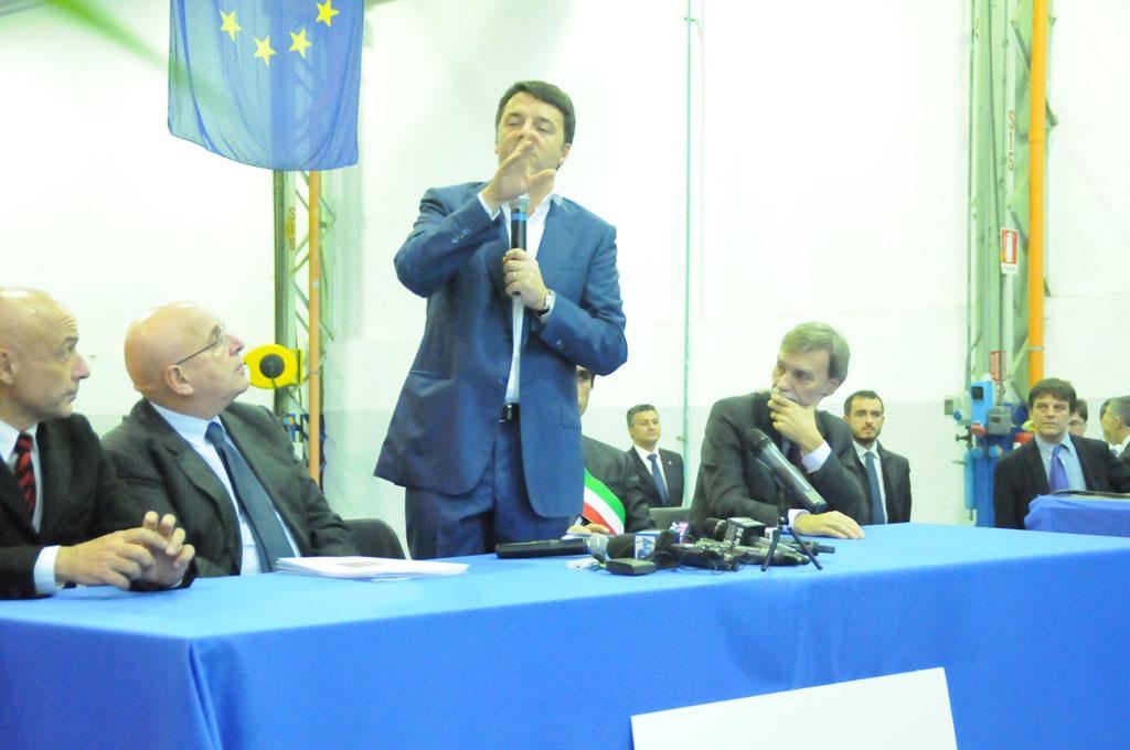 Matteo Renzi Reggio