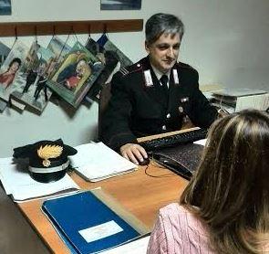 Carabinieri - denuncia stalking