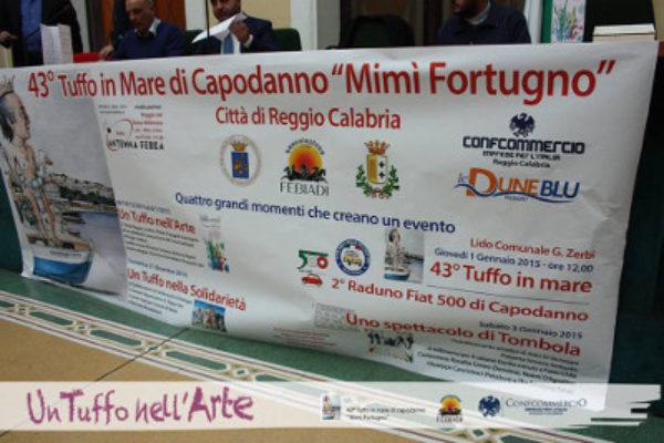 """Reggio Calabria: 47° Tuffo in mare di capodanno """"Mimì Fortugno"""""""