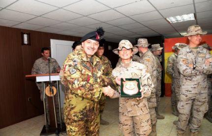 """Cambio del direttore sanitario del """"ROLE 2"""" al TAAC-W di Herat 1"""