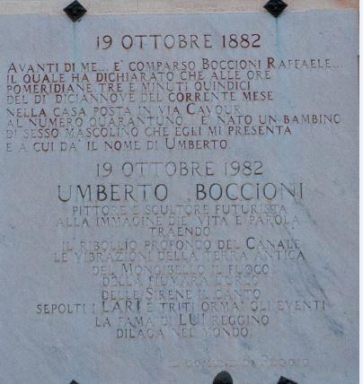 Casa Umberto Boccioni - ph Filippo Parisi