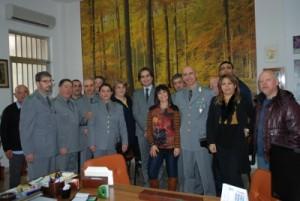 Visita sindaco ufficio UTB
