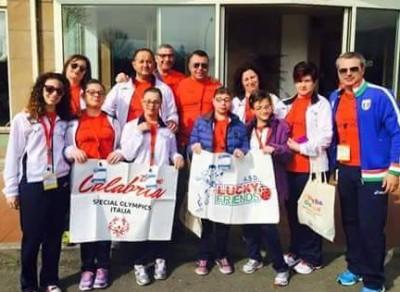 Calabria special Olympics Ginnastica Ritmica