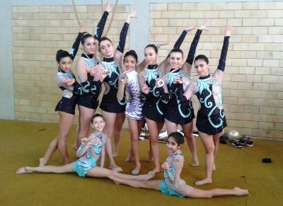 Le ginnaste Restart impegnate nel Gpt di Catanzaro