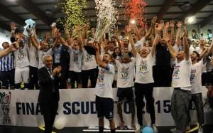 Festeggiamenti scudetto 2015 Pescara