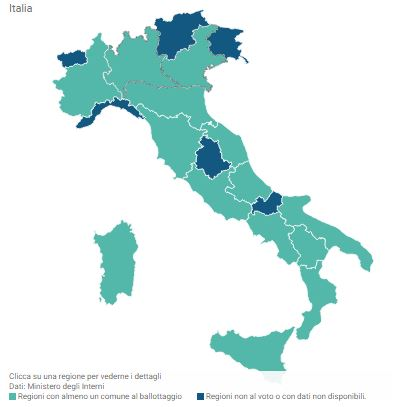 Italia votazioni amministrative e ballottaggi 2015