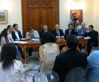 conferenza stampa minoranza 20 -06 -2015 - Reggio Calabria @ilmetropolitano.it
