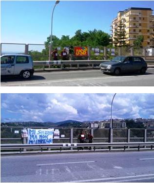 protesta vigili del fuoco catanzaro