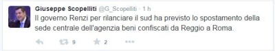 Twitter Scopelliti