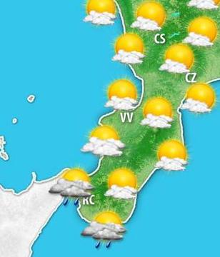 Il meteo di domani 6 ottobre - Meteo bagno di romagna domani ...