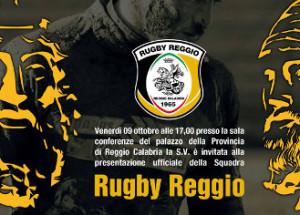 Presentazione Rugby Reggio