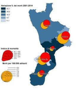 Calabria incidenti (fonte istat)