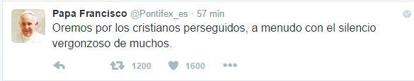 Papa twitt