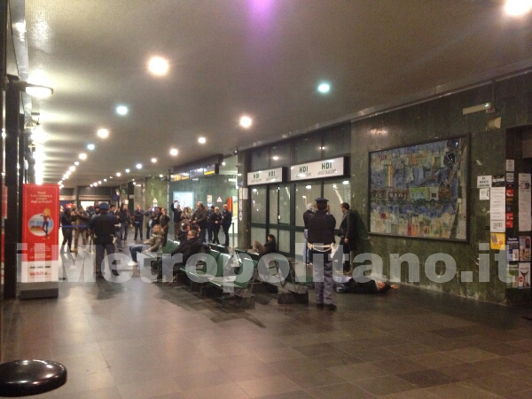 esercitazione forze dell'ordine Stazione Centrale Reggio Calabria