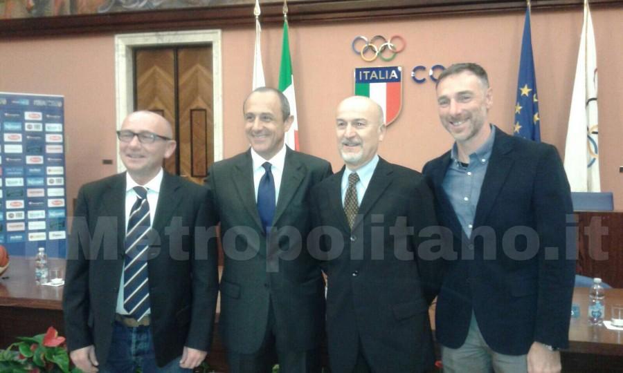 Presentazione Ettore Messina Roma