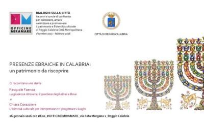 presenze ebraiche in Calabria