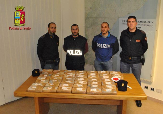 Polizia - sequestro droga