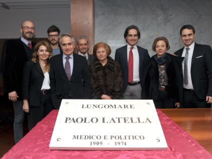 targa Lungomare Pellaro Paolo Ugo Latella