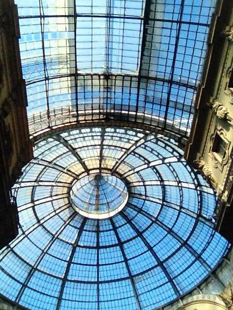 Tetto galleria Milano