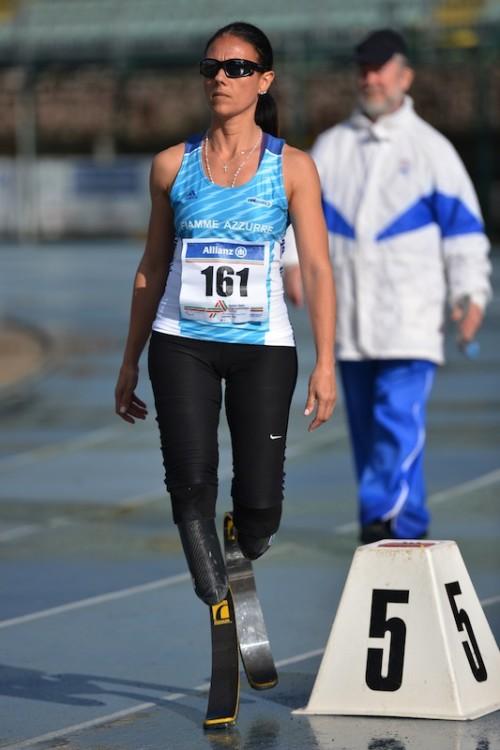 Giusy Versace Grosseto Record 400 metri