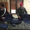 Carabinieri  - Materiale sequestrato