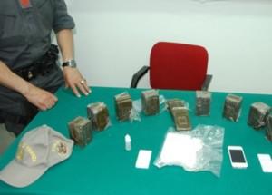 gdf droga sequestrata