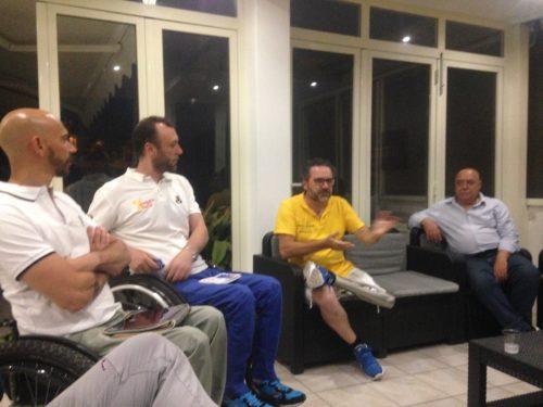 Conferenza Viaggio Italia ospiti