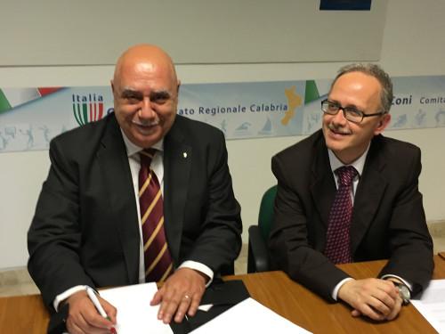Firma accordo Giustizia sportiva e processo